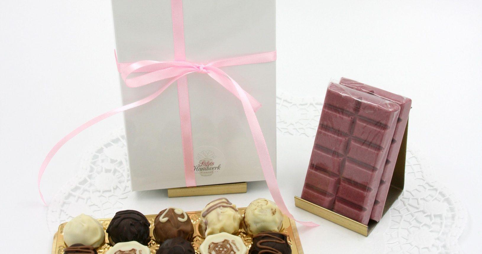 Pralinen Verpackung Schokolade